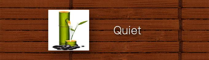 デスクトップ録画をしたいブロガーにも便利な「Quiet」。アプリケーションの背景をぼかしたり真っ黒にして集中できます。[Mac]
