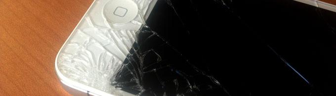 うわっ、iPhoneの画面割れた!修理は無理せず自分で行わずに専門店で直してもらった。[iOS]